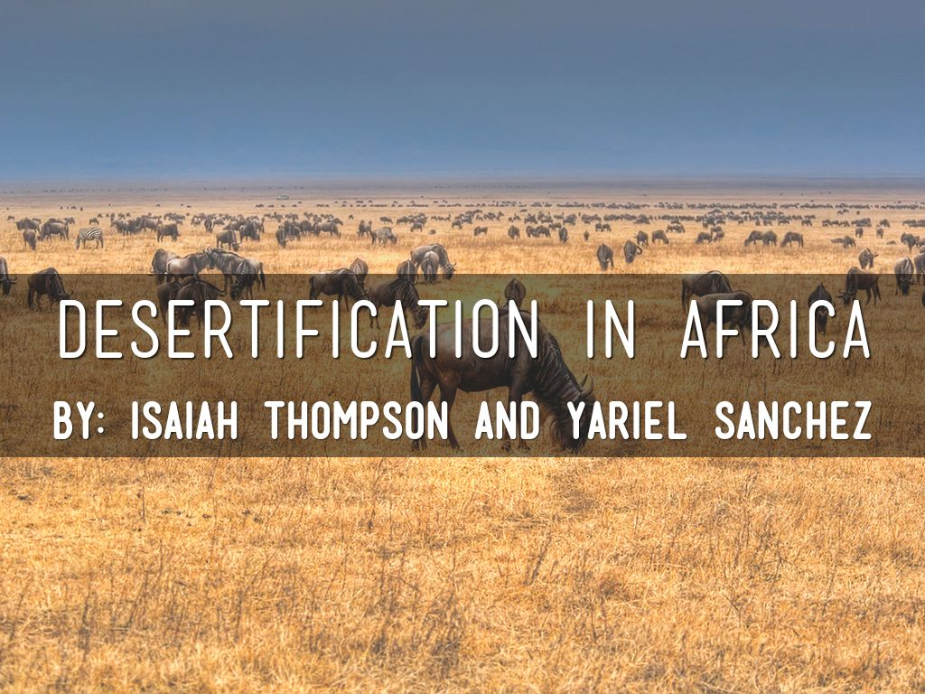 desertification in africa What is desertification desertification is defined as a process of land degradation in arid, semi-arid and sub-humid areas due to various factors including climatic.