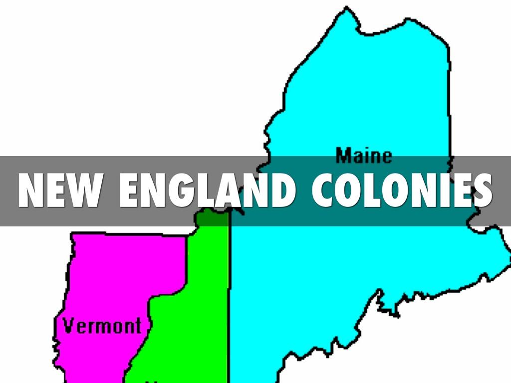 New England Colonies by Meggan mathews