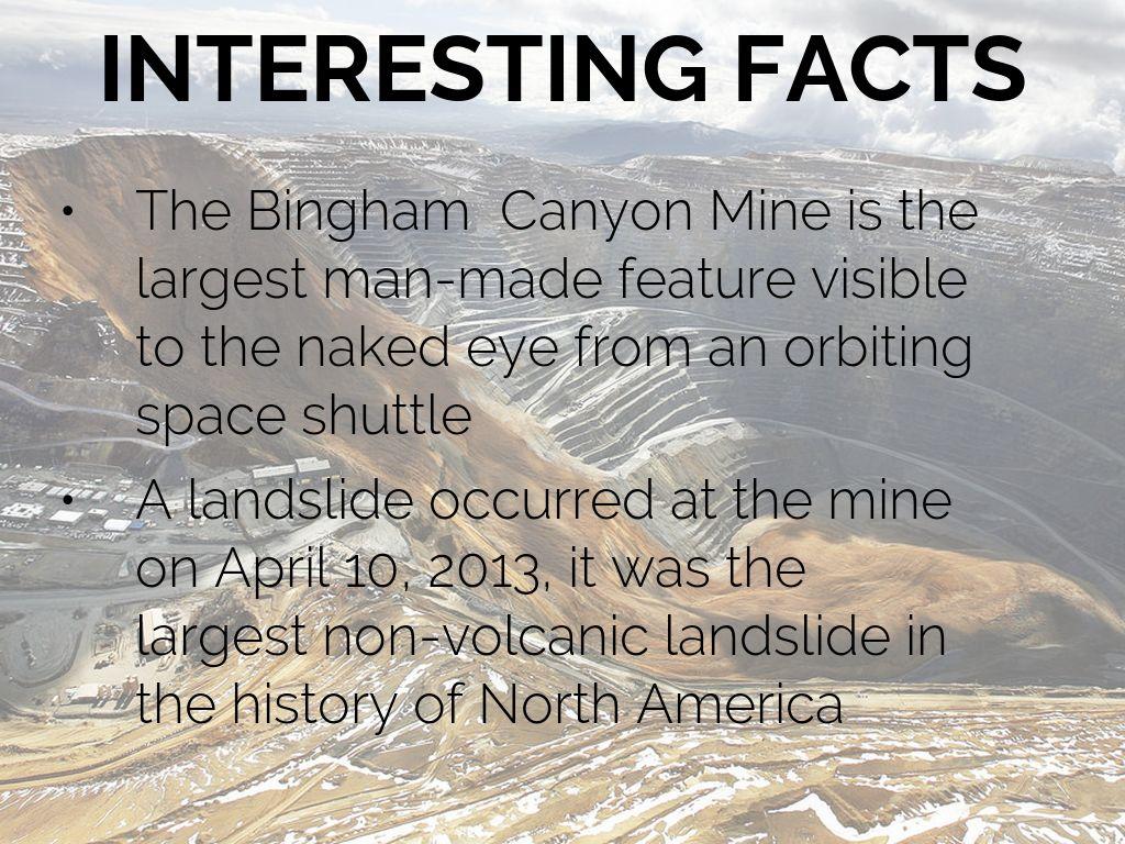 Bingham Canyon Mine By Jake Graham