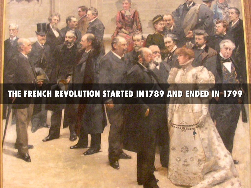 an overview of the french revolution between 1789 and 1799