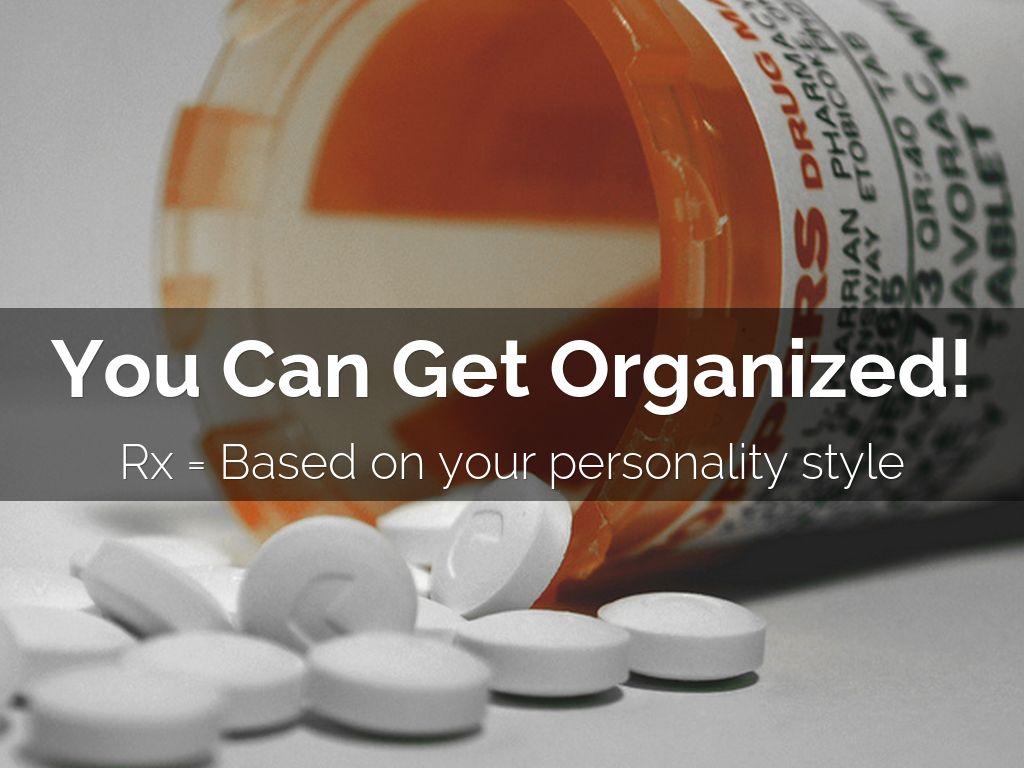 Organizing Personality Style Types