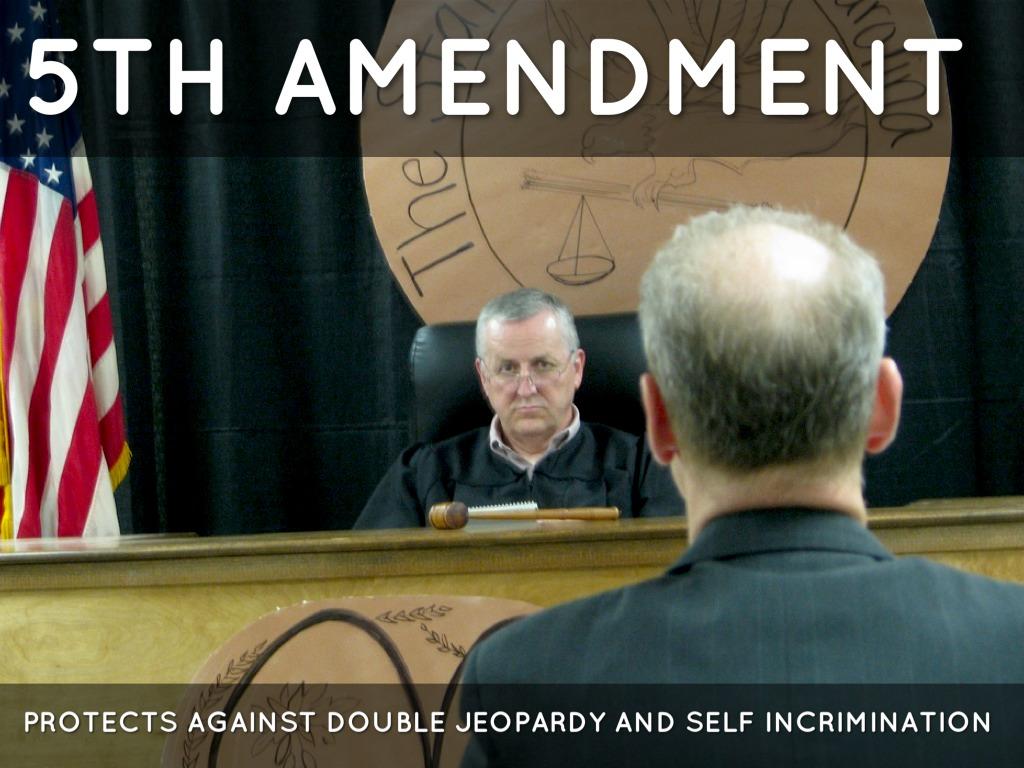 Double Jeopardy 5th Amendment The 27 Amendments by J...