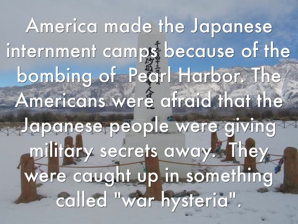 "comparison concentration camps japanese internment Fdr himself (and others) initially referred to the ww ii era camps for imprisoned japanese americans as ""concentration camps"" but with the holocaust that term has heavy implications of something worse, a ""death or extermination"" camp."