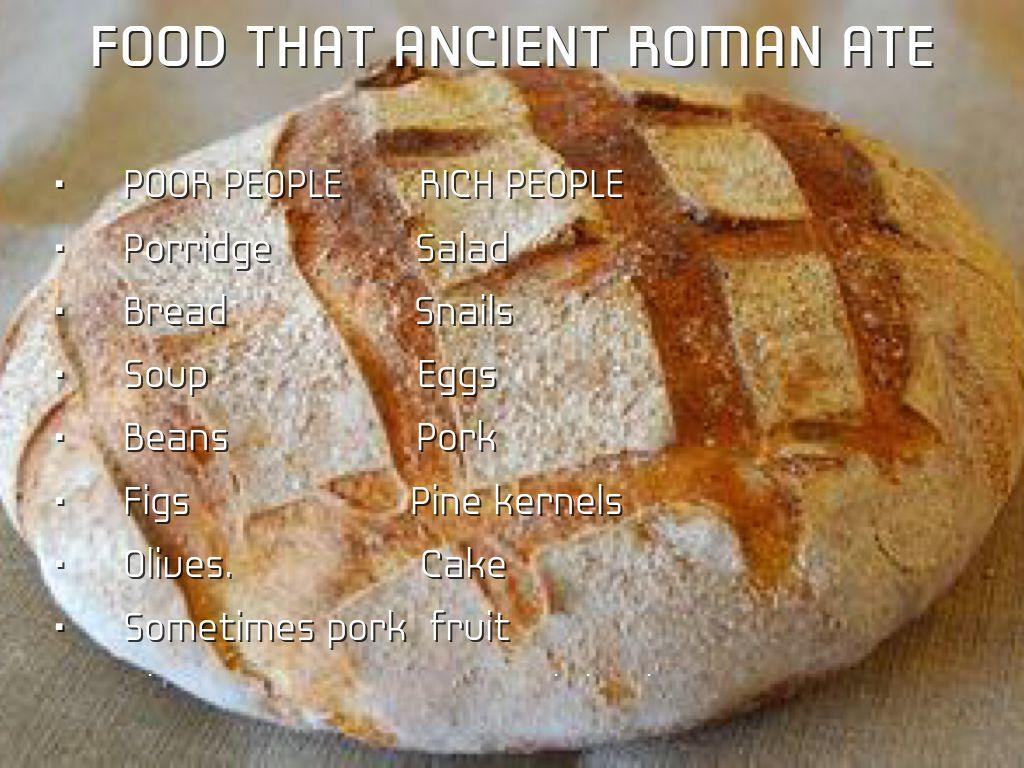 Ancient Roman Food Bread Www Pixshark Com Images