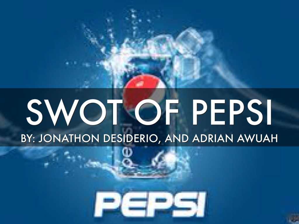 pepsi swot By creately templates swot analysis of google, also known as alphabet american multinational technology company specializing in internet-related services and products.