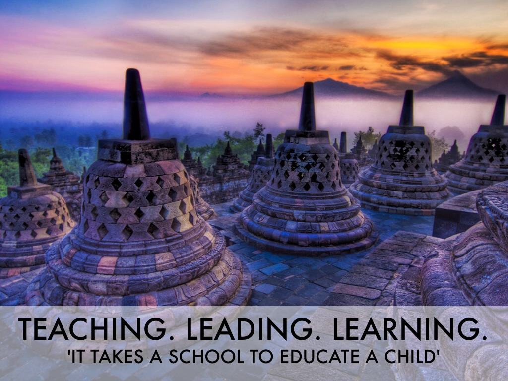 Teaching. Leading. Learning.