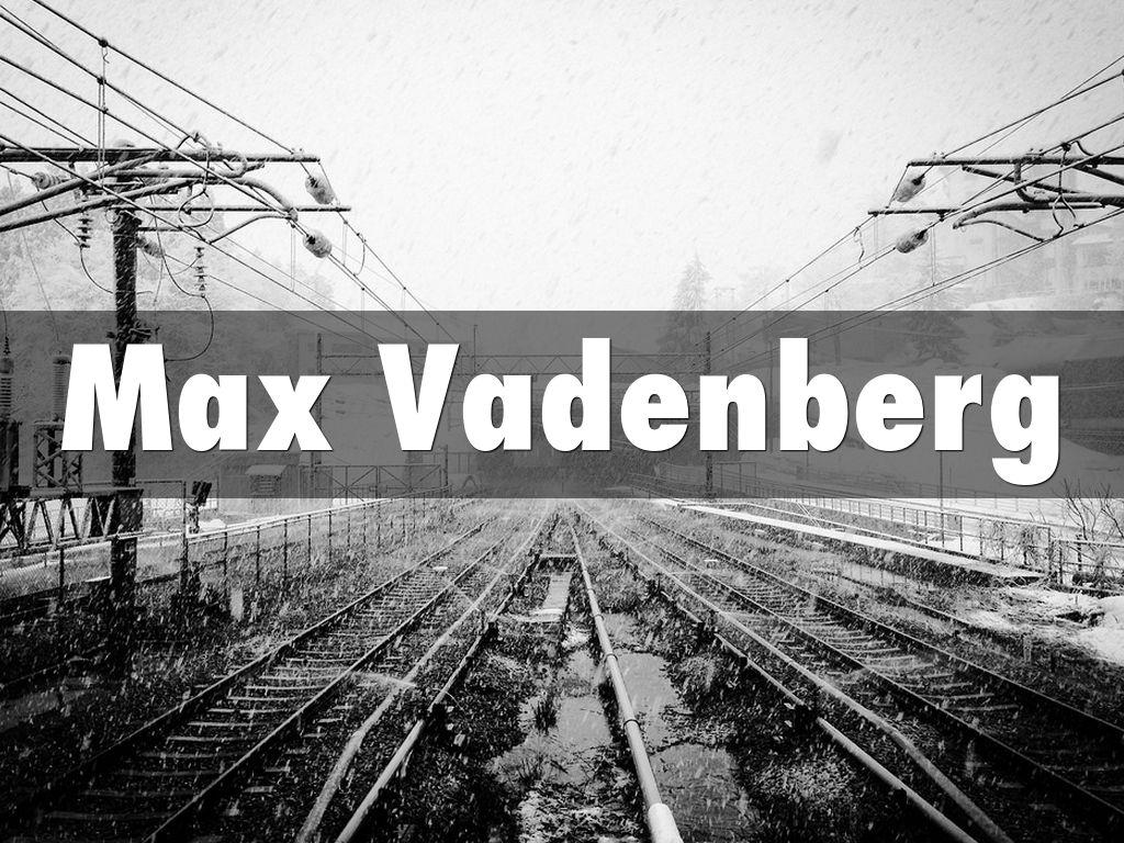 Max Vadenberg