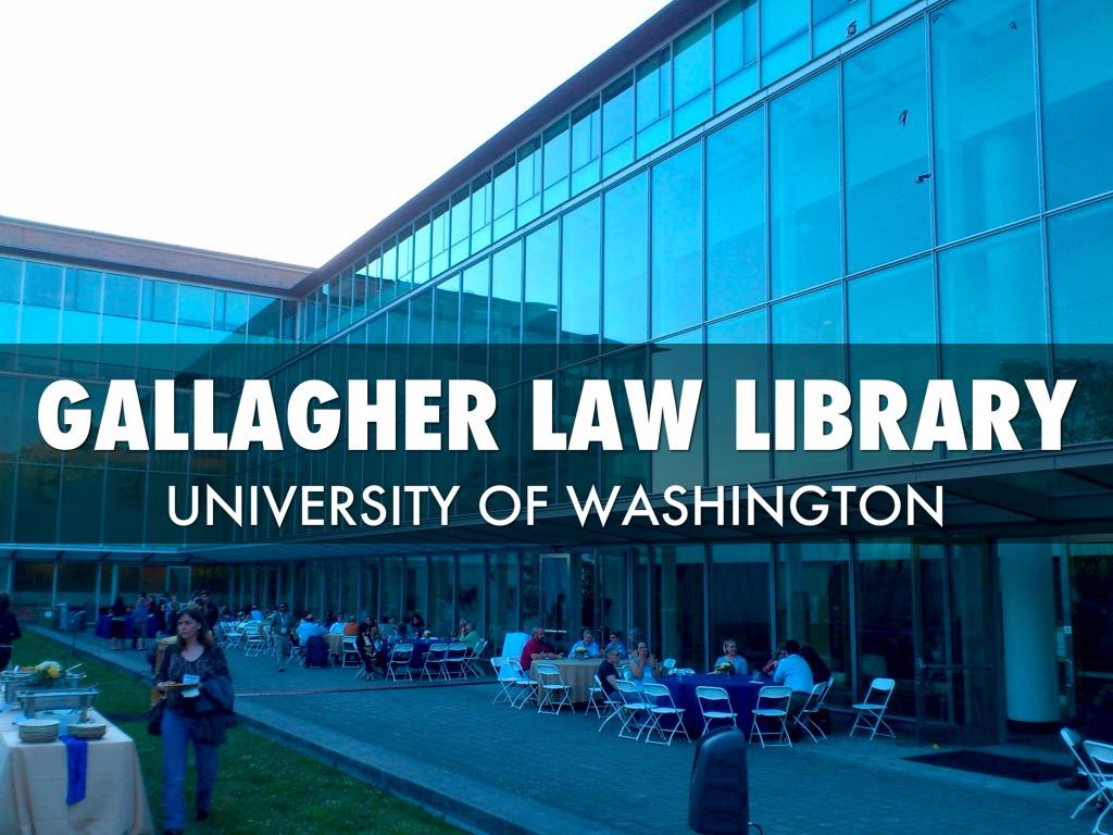 Gallagher Law, University Of Washington