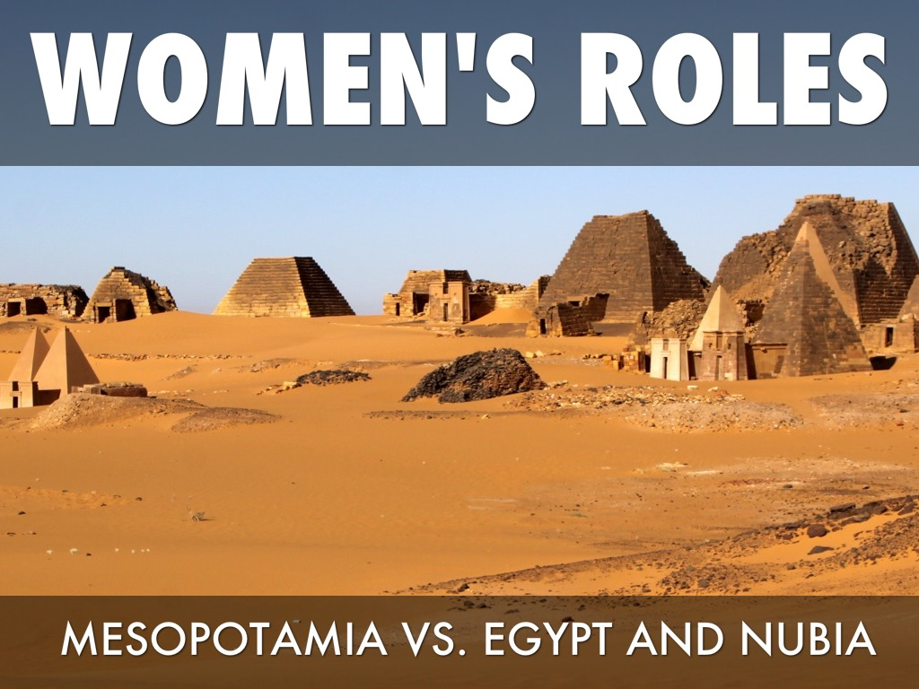 egypt vs mespotamia