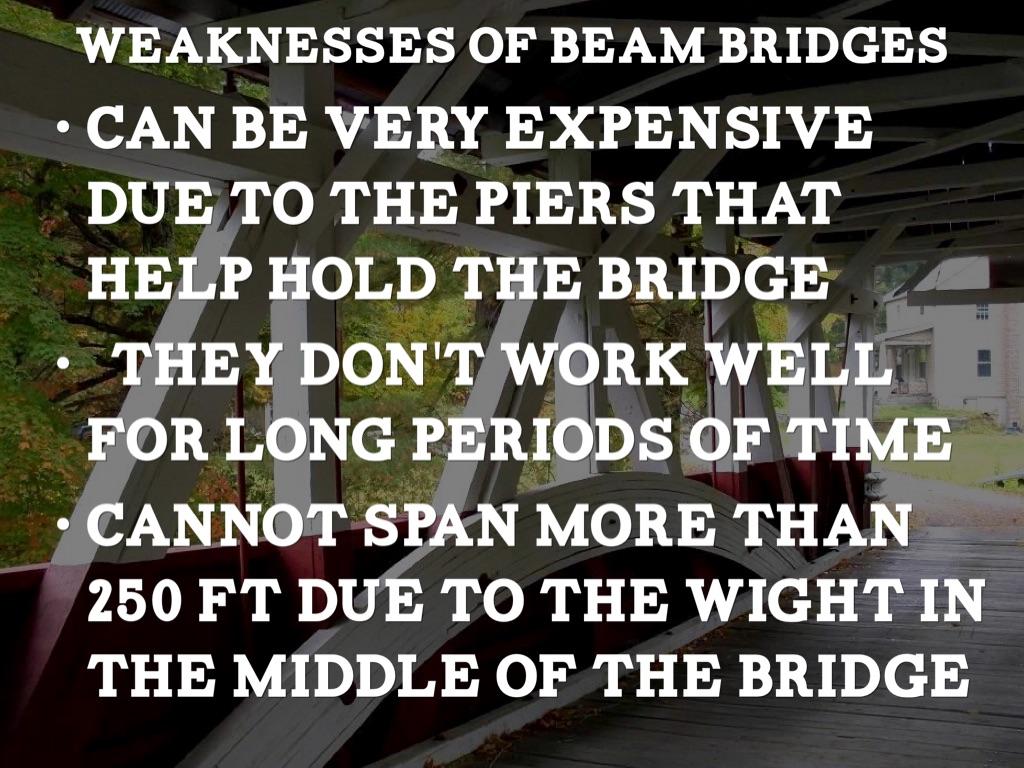 advantages and disadvantages of a warren truss bridge To design a safe pratt truss bridge, use simulation to analyze the stress and deflection fields as well as eigenfrequencies modeling a pratt truss bridge.