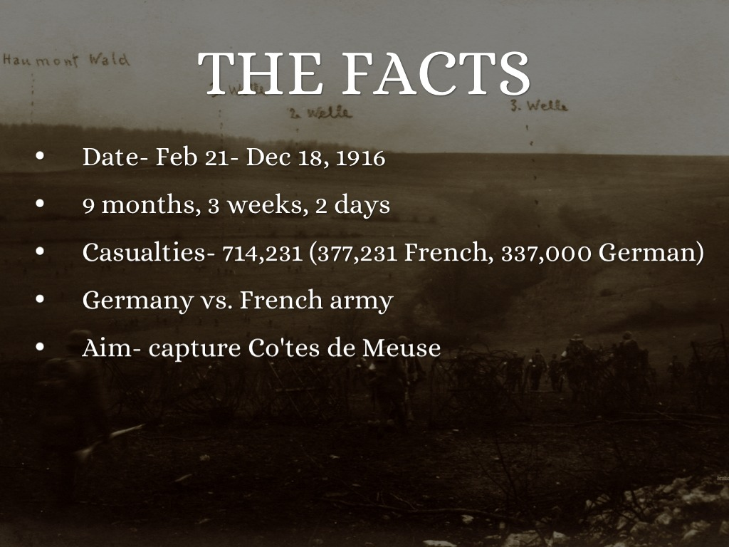 battle of verdun 1916 facts image collections