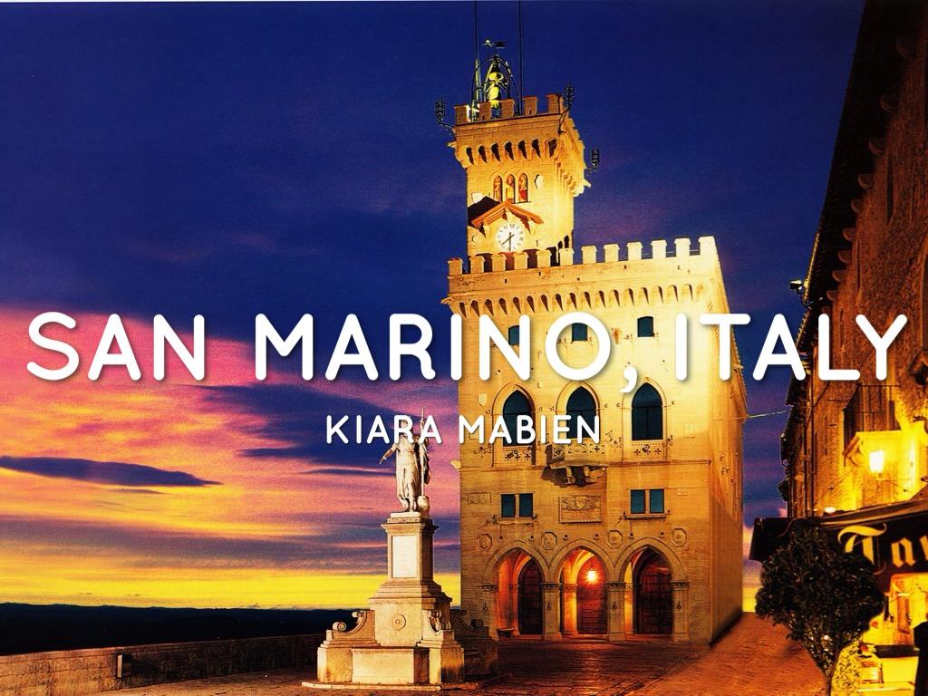 San Marino by Kiara Mabien