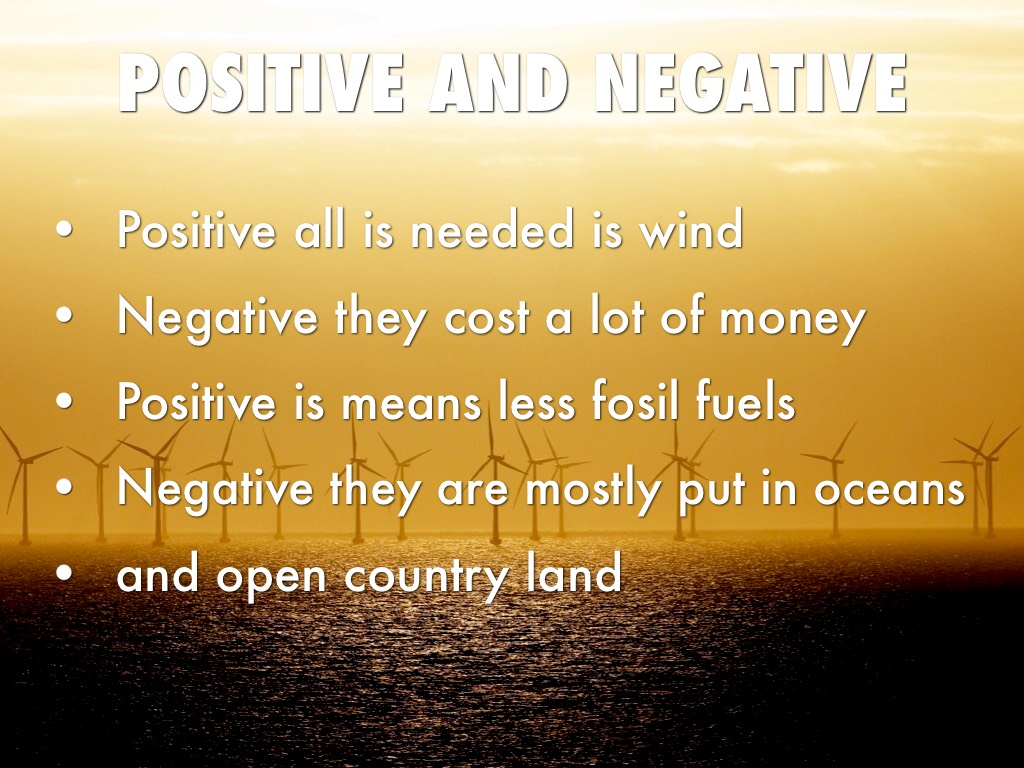 positive and negative aspects of money