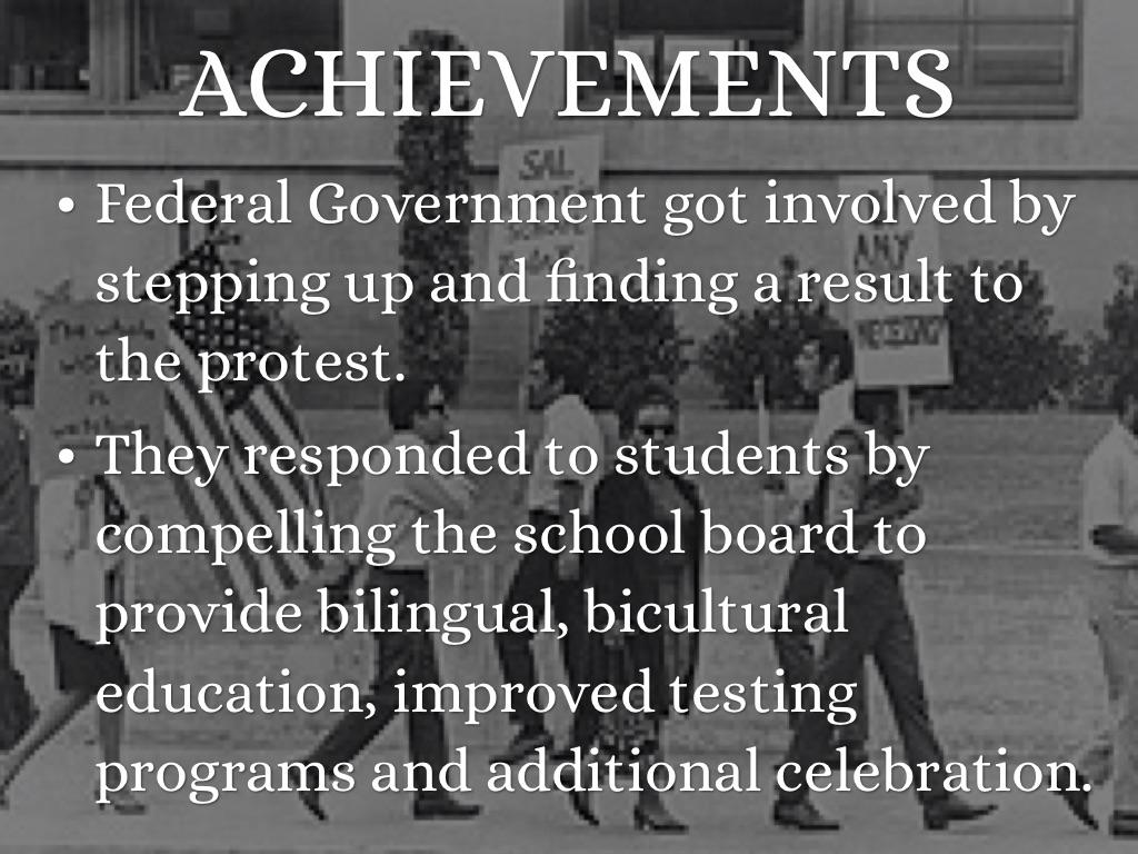 chicano movement achievements