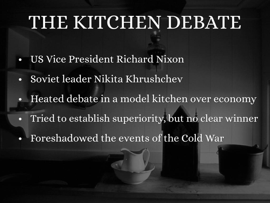 The Cold War by Anna Kustar