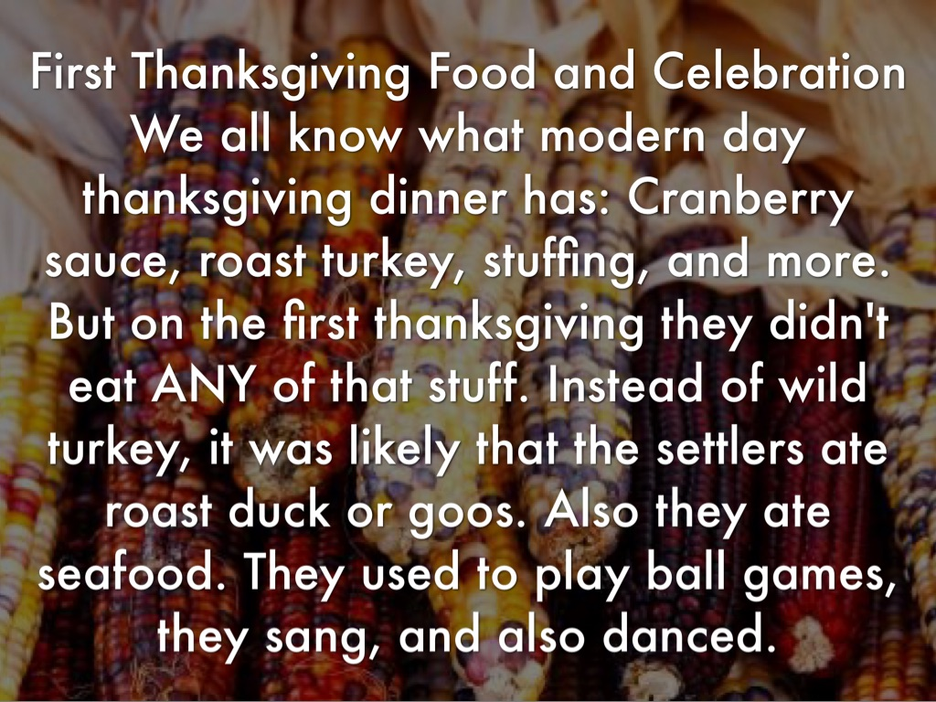 The first thanksgiving by emma bell for What did they eat at the first thanksgiving