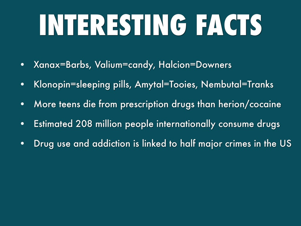 valium drug facts