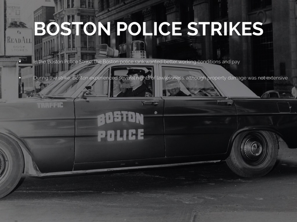 boston police strike