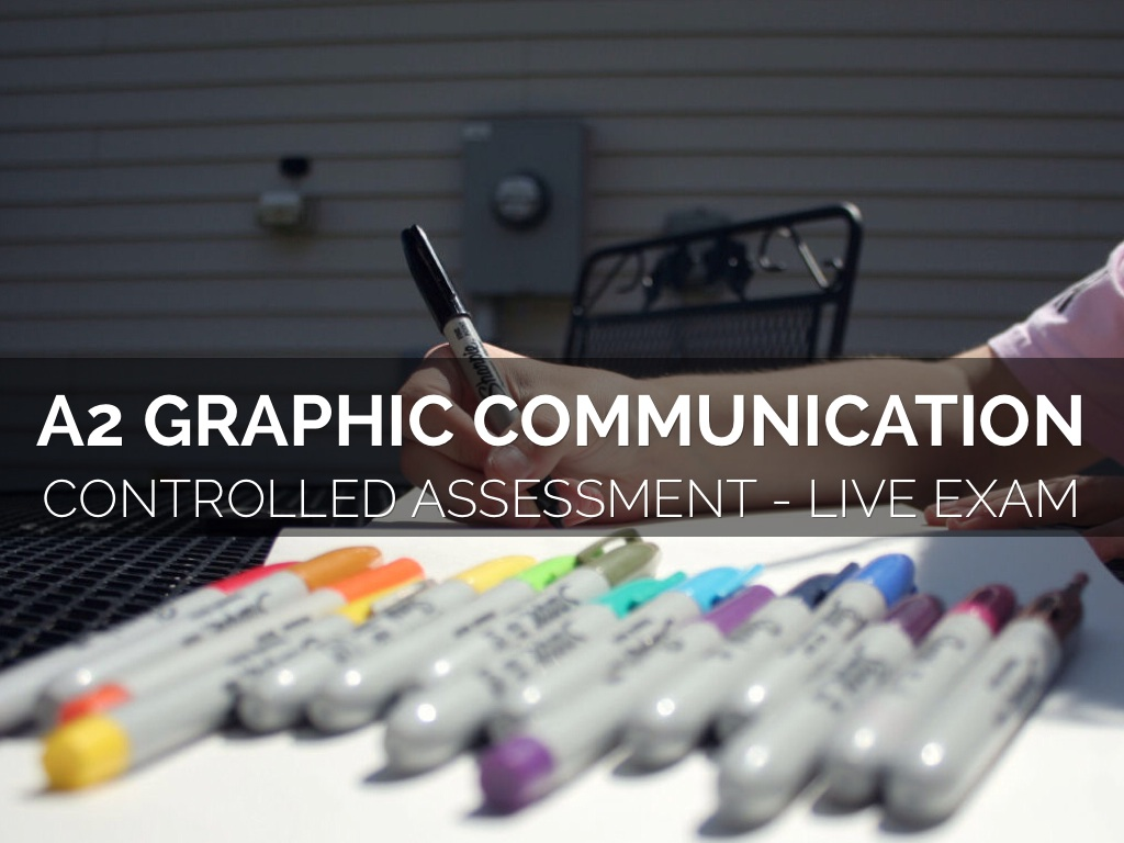 A2 GCE Graphic Communication Exam 2015