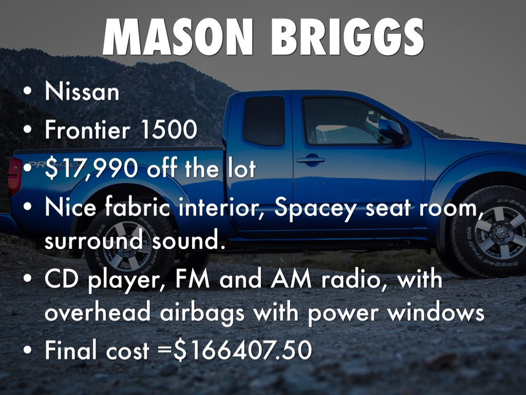Mason Briggs by Nathan Morton