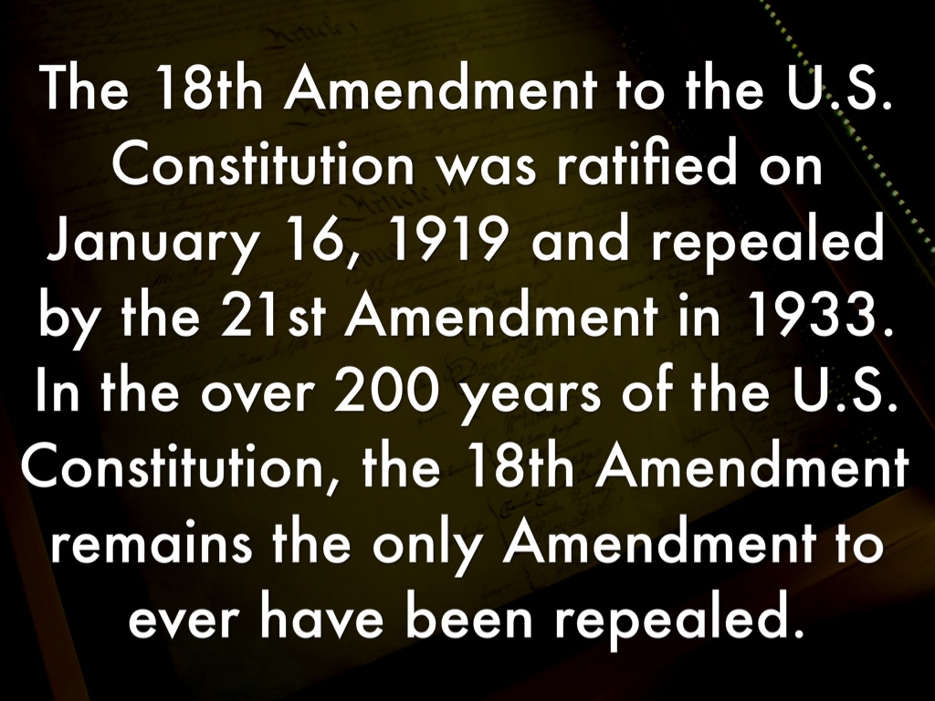 Copy of 18th Amendment by Shyanne Spivey