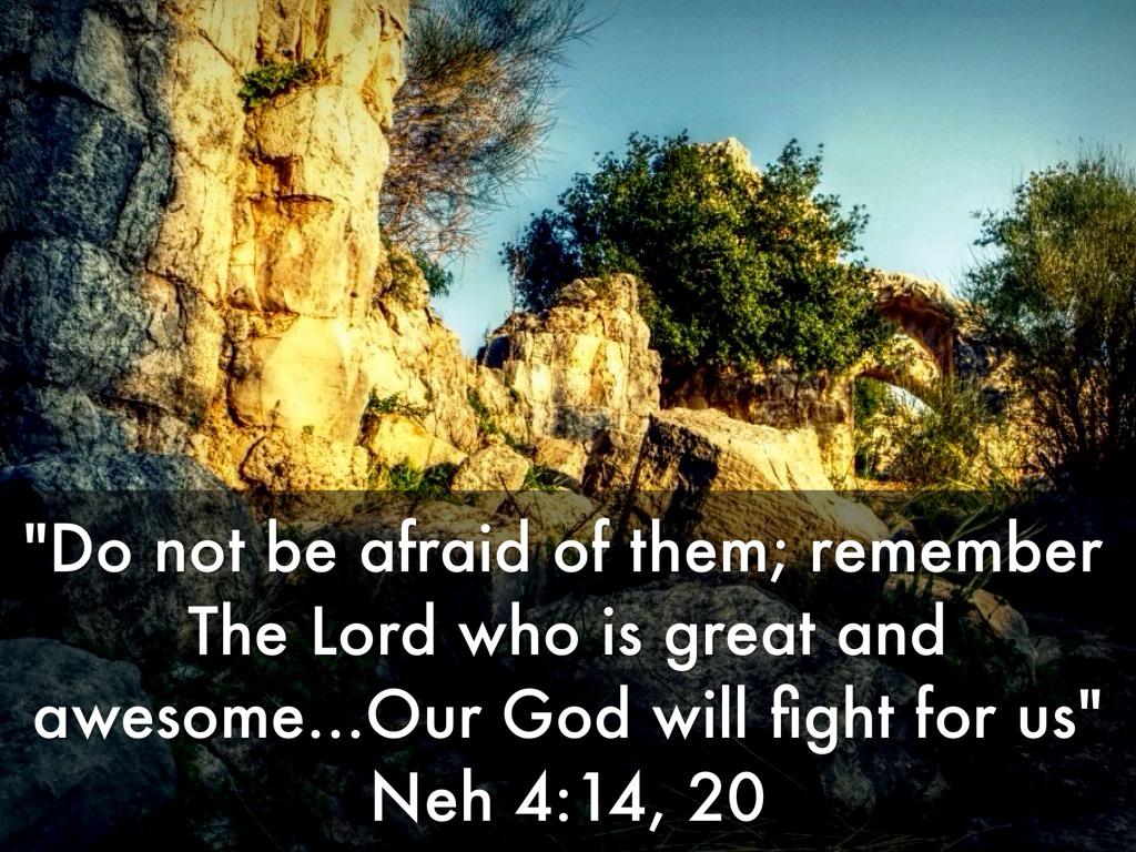 Neh 4:14, 20