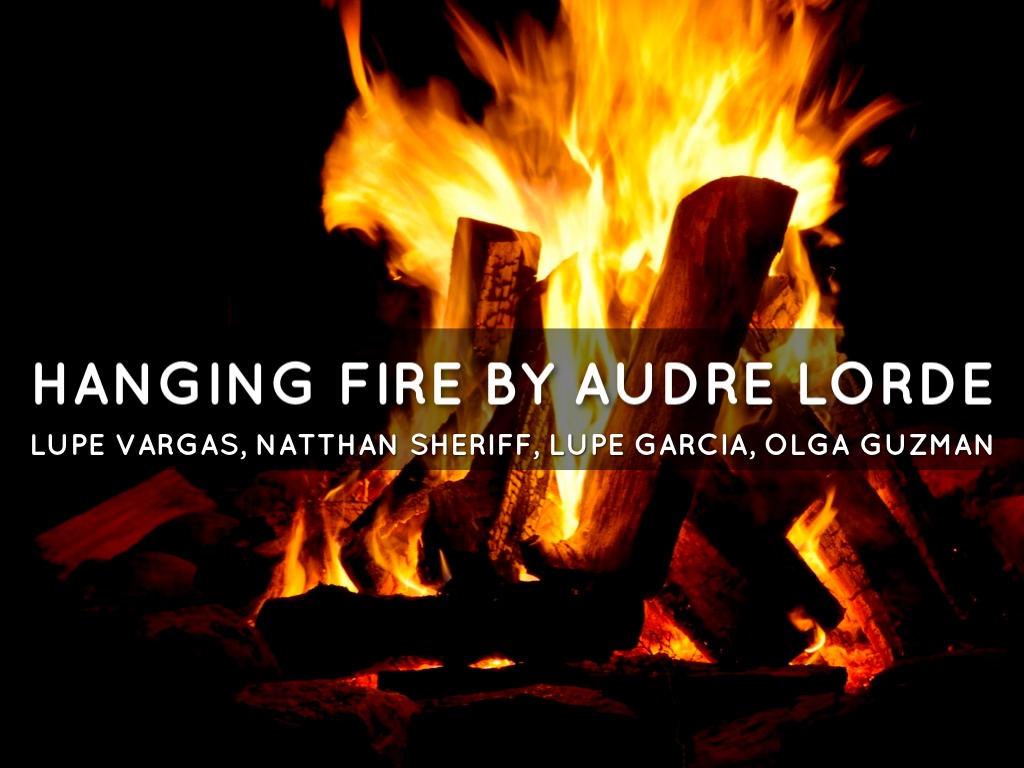 the harsh truths of being a teenager in hanging fire by audre lorde