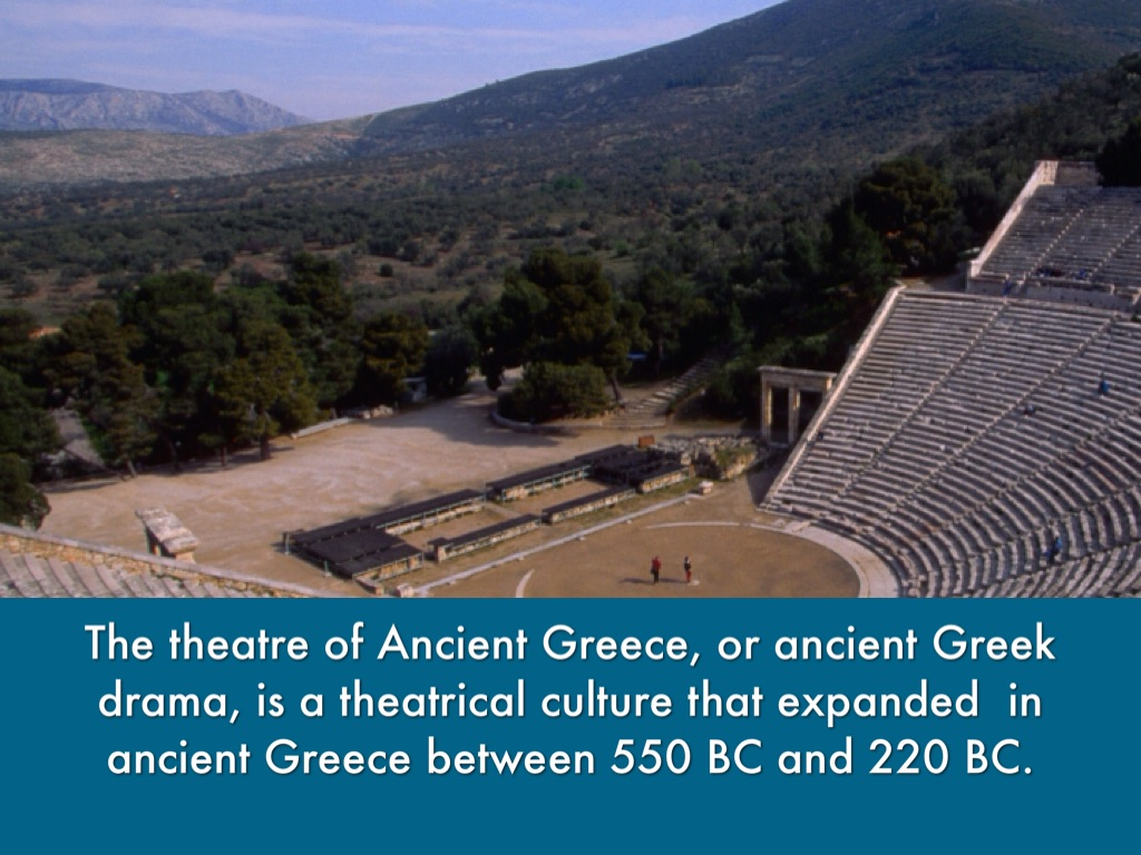 an analysis of theater and drama in ancient greece