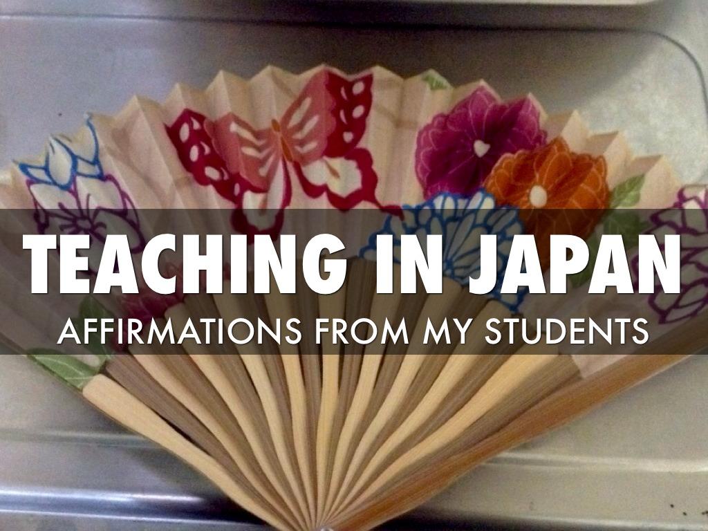 ALT Affirmations From Japan