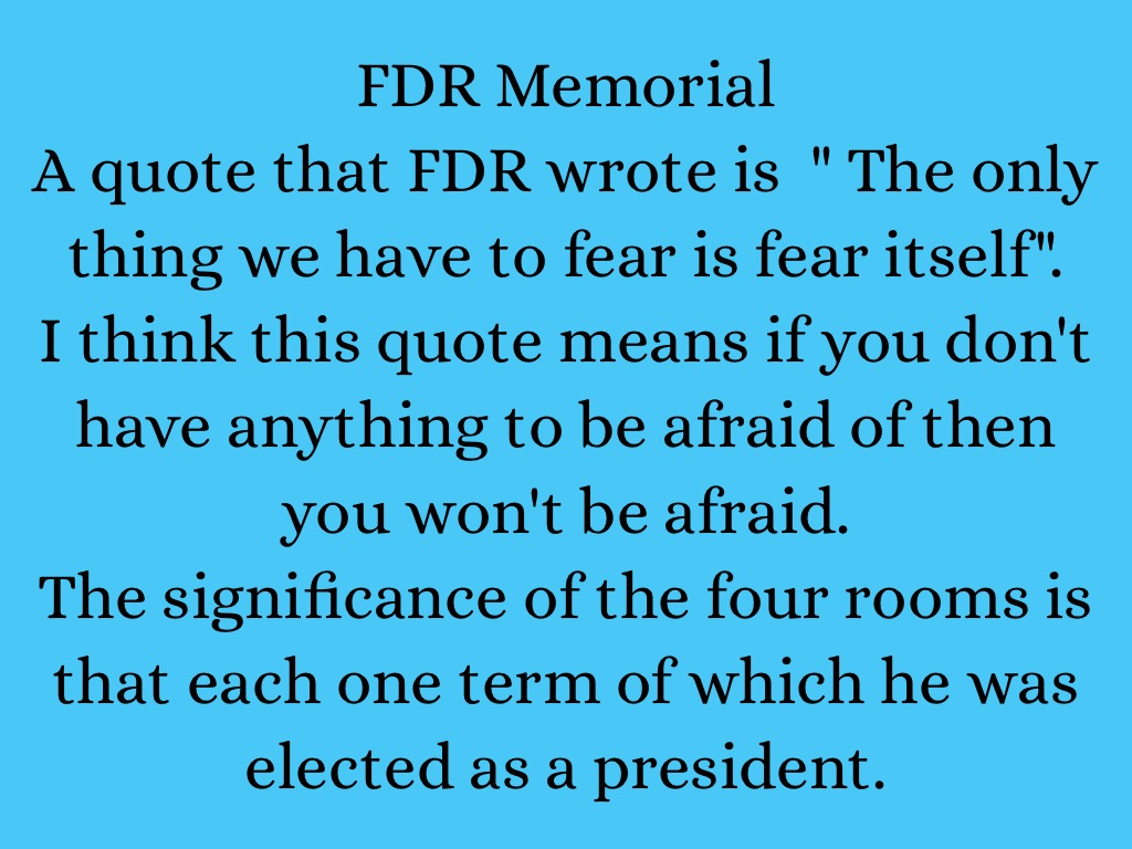 fdr project