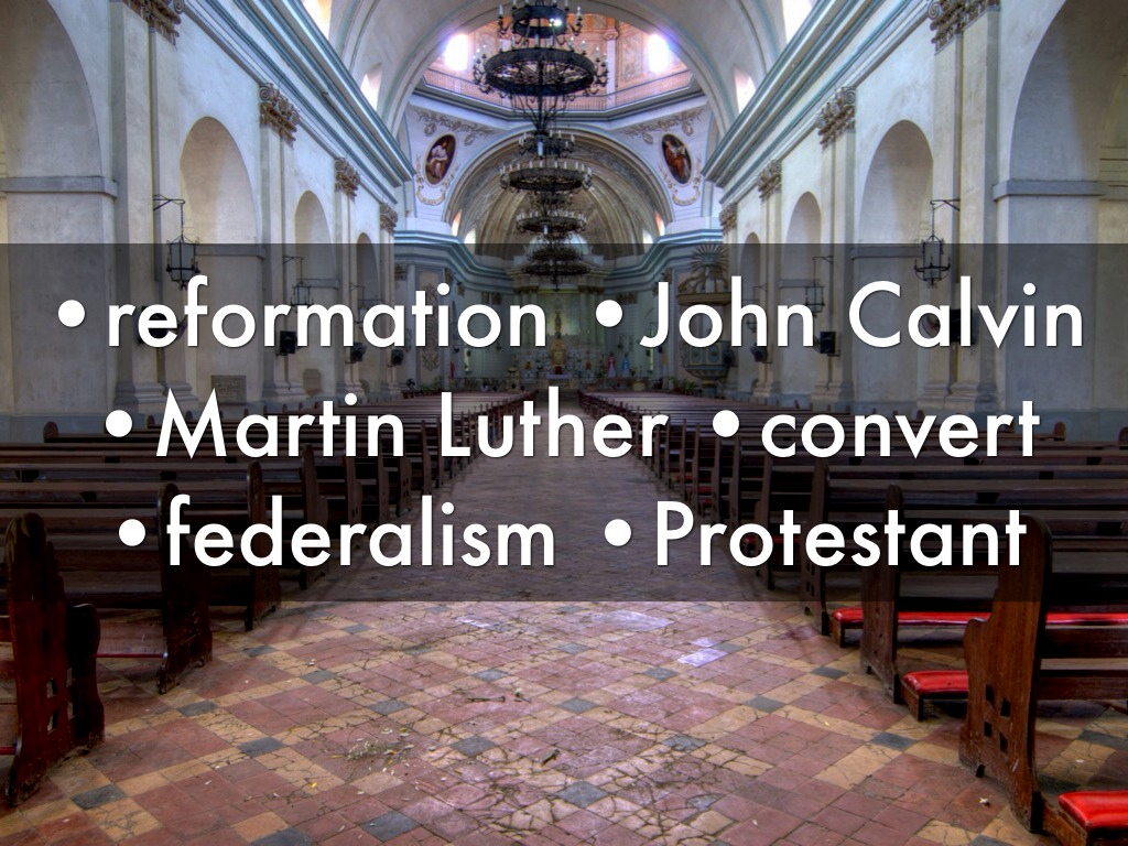 martin luther vs john calvin Martin luther vs john calvin luther: i martin luther: a he's a catholic friar b received phd in religion c his 95 theses (document) causes him.