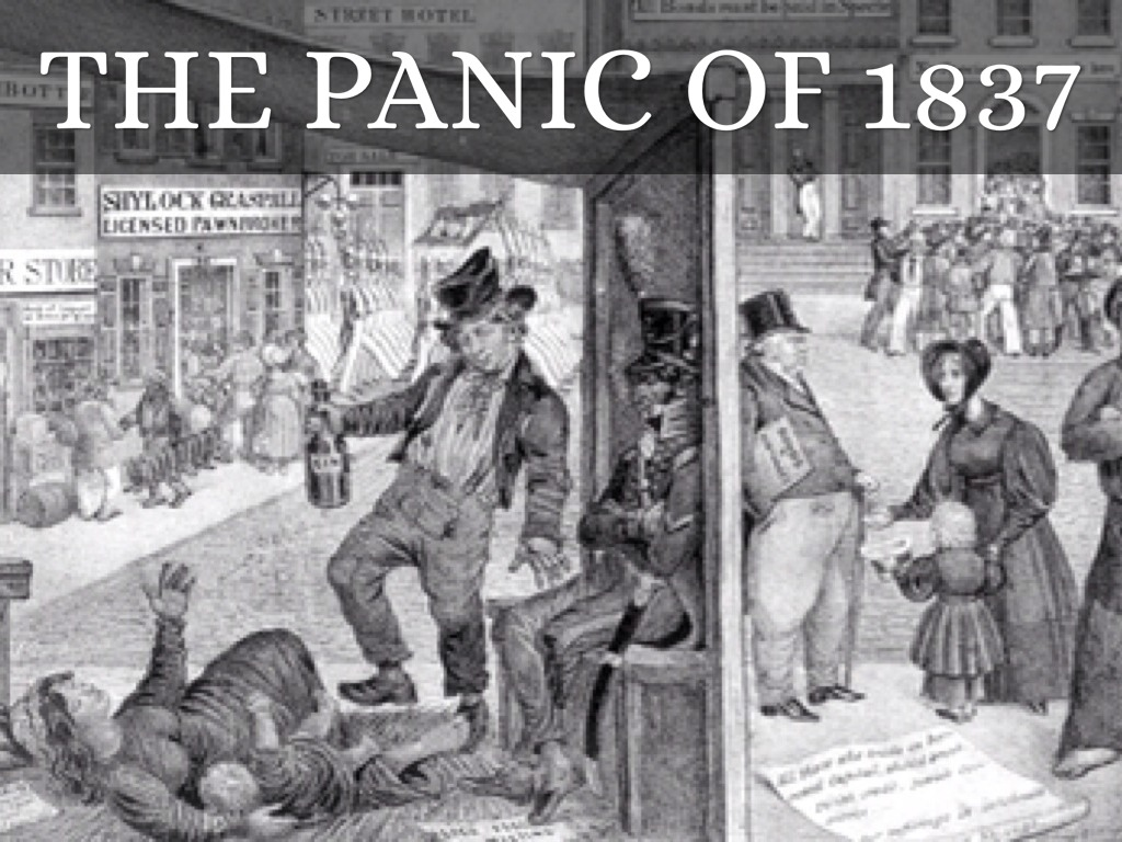 an analysis of the panic of 1837 as an economic depression resulting from andrew jacksons economic p Andrew jackson president project the 7th president: andrew jackson issues during campaing 1828 he wanted to clean out the corruption jacksonians depicted adams as a corruptionist, an aristocrat, and a libertine the presidency video by: nyya cox it is to.