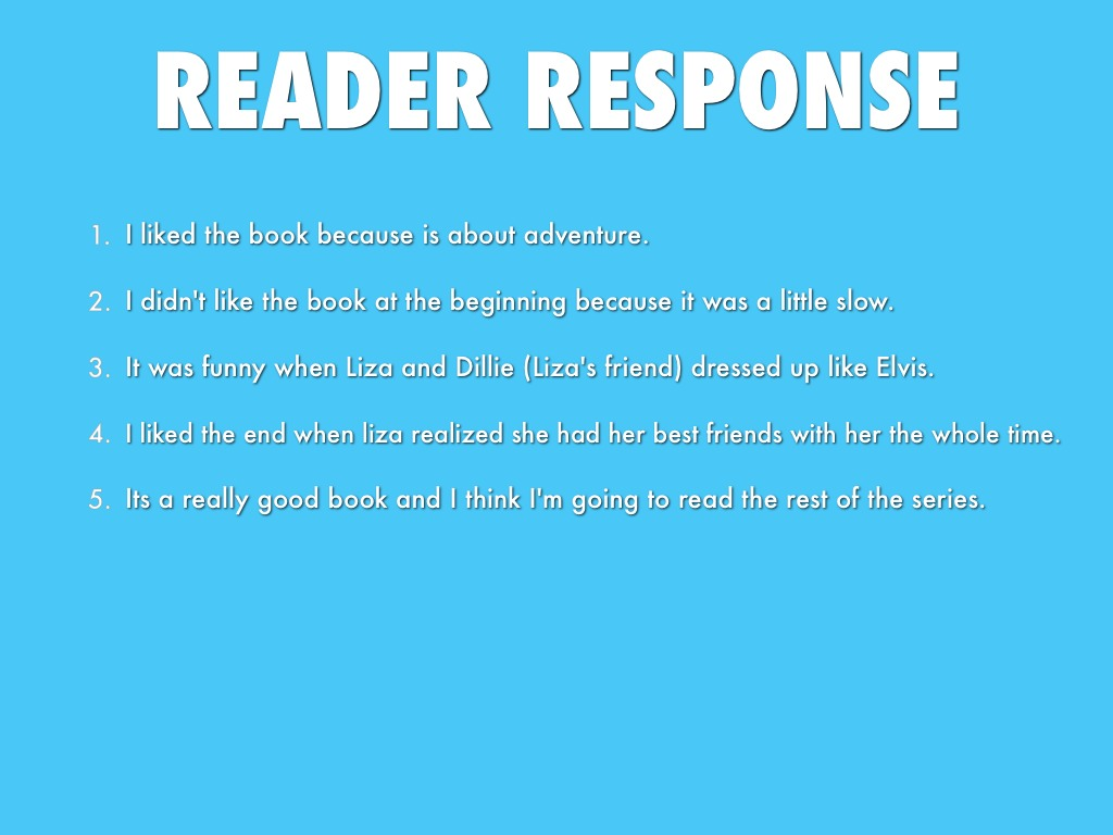 reader's response ^fcfc the what, why, when and how of reading response journals julia shinneman fulps terrell a young today much student time is spent in preparation for.