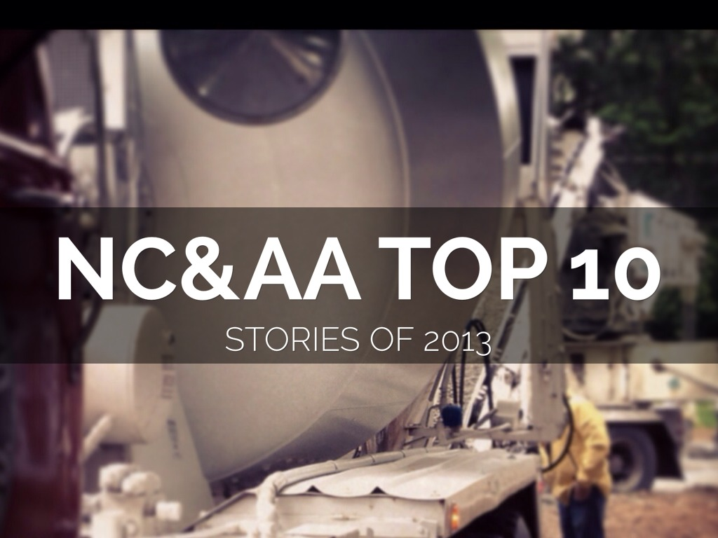 NC&AA Top 10 Stories OF 2013