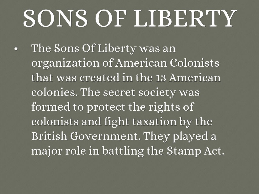 Sons And Daughters Of Liberty by Slade Simpson