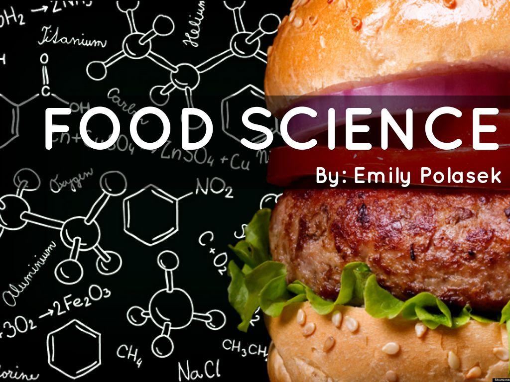 science food presentation technology