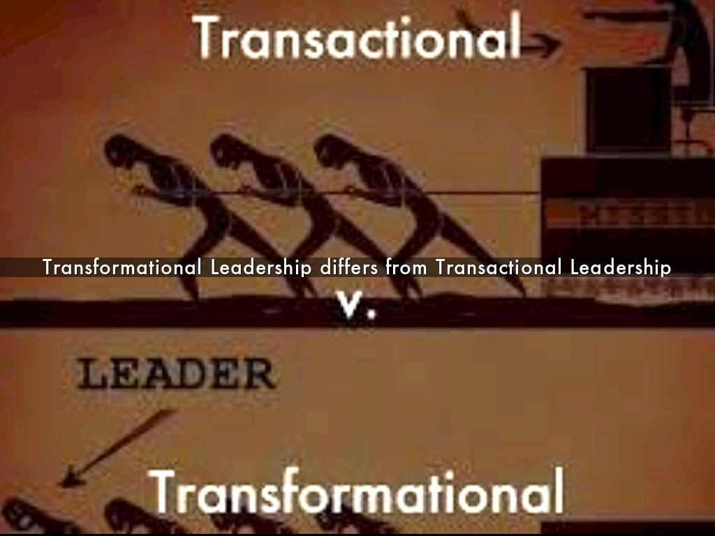 transactional vs transformational leadership The most important difference between transactional and transformational leadership is that transactional leadership is best for settled environment, but transformation is good for turbulent environment.