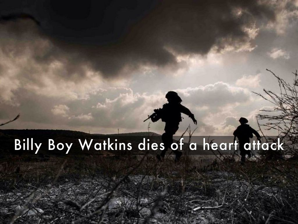 Billy Boy Watkins Dies Of A Heart Attack