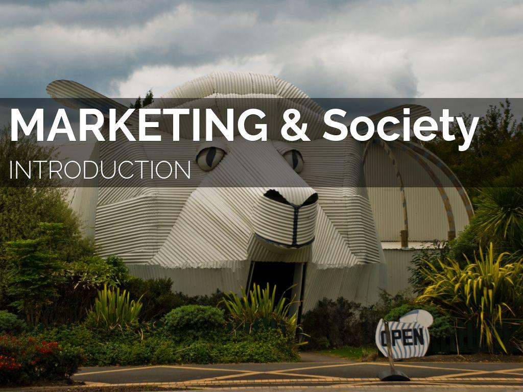 Society & Marketing
