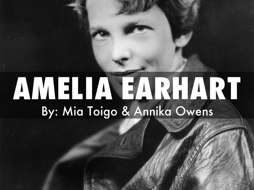 amelia earhart by s33690