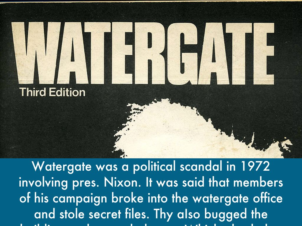 watergate is a political period essay Free coursework on watergate from essayuk watergate political scandals are not strangers to the fight for the tapes started in the period between may and.
