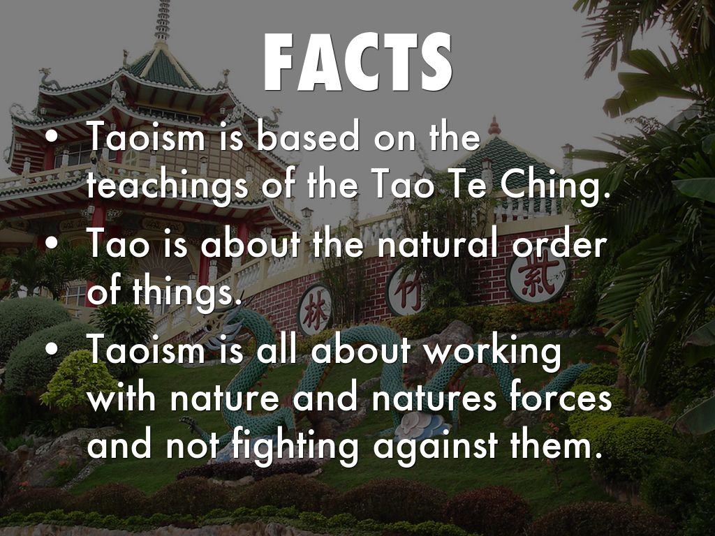 the history and origins of taoism The term d oji ot (chinese: literally: follower of taoism), with the meaning of taoist as lay member or believer of taoism persons from the history of taoism, and people who are considered to have become immortals.