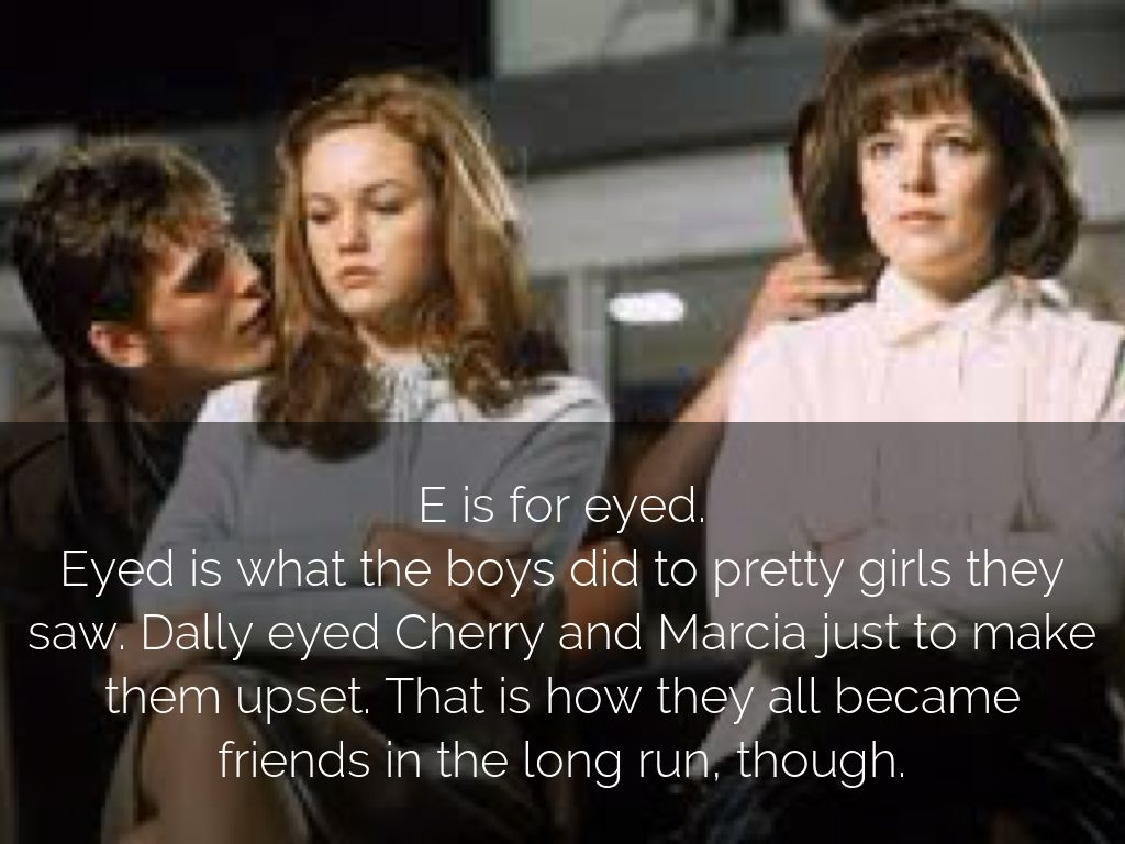dally and cherry | Tumblr  |The Outsiders Movie Dally And Cherry