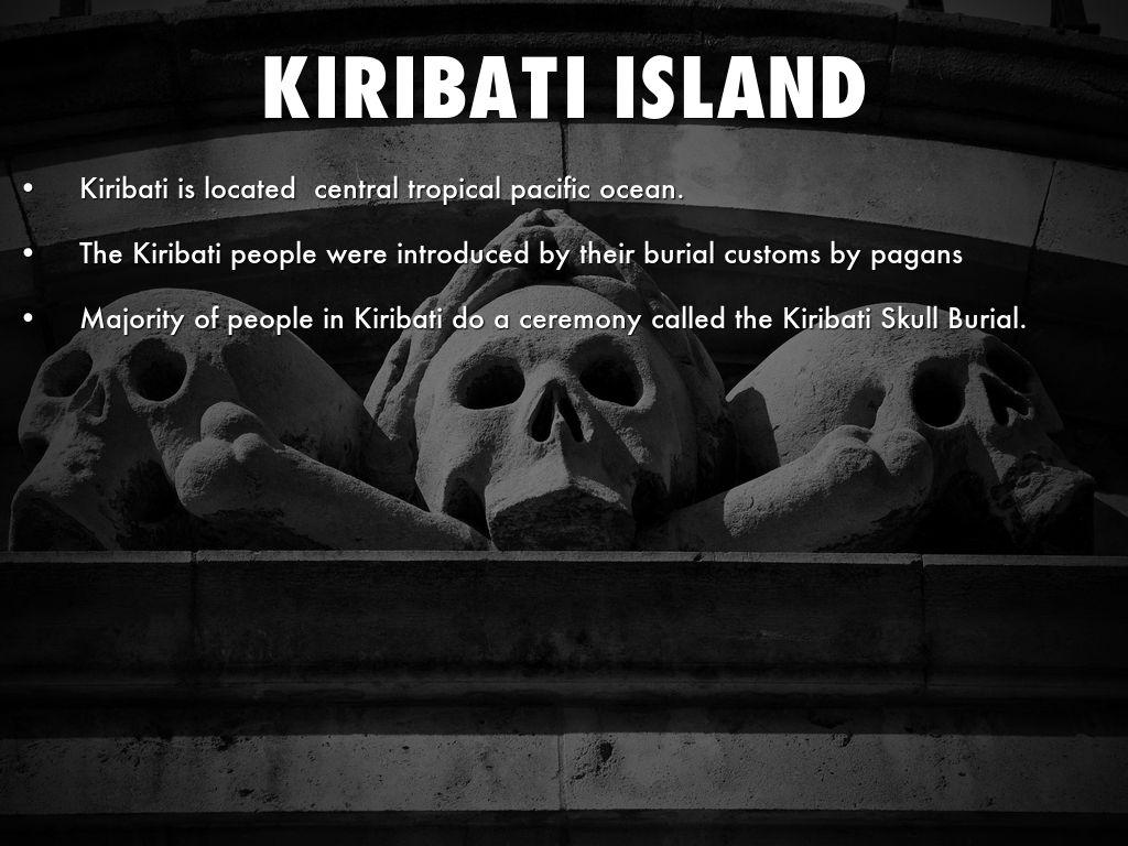 Image result for skull burial kiribati pic