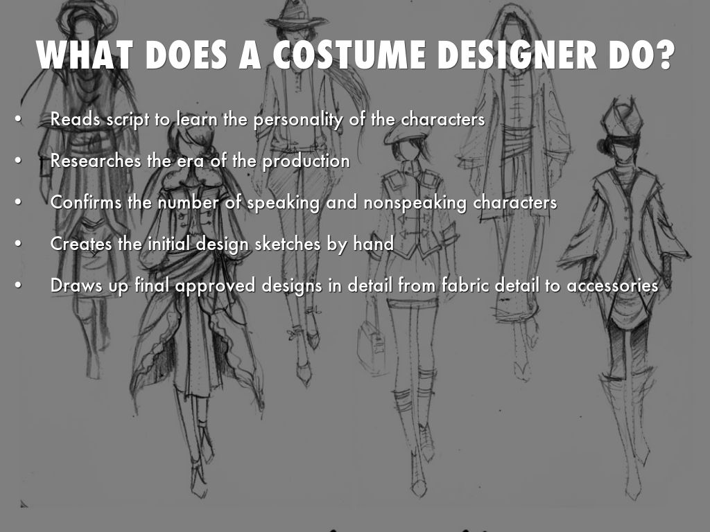 What does a costume designer do? : costume designer education  - Germanpascual.Com