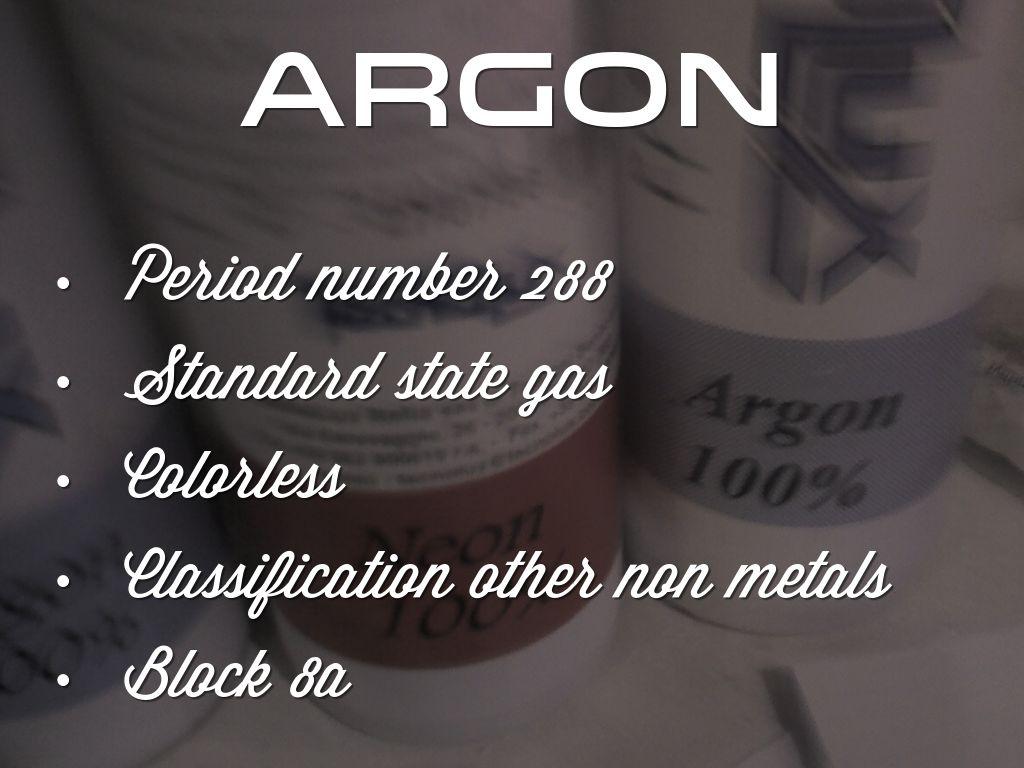 Argon by Maggie Henderson