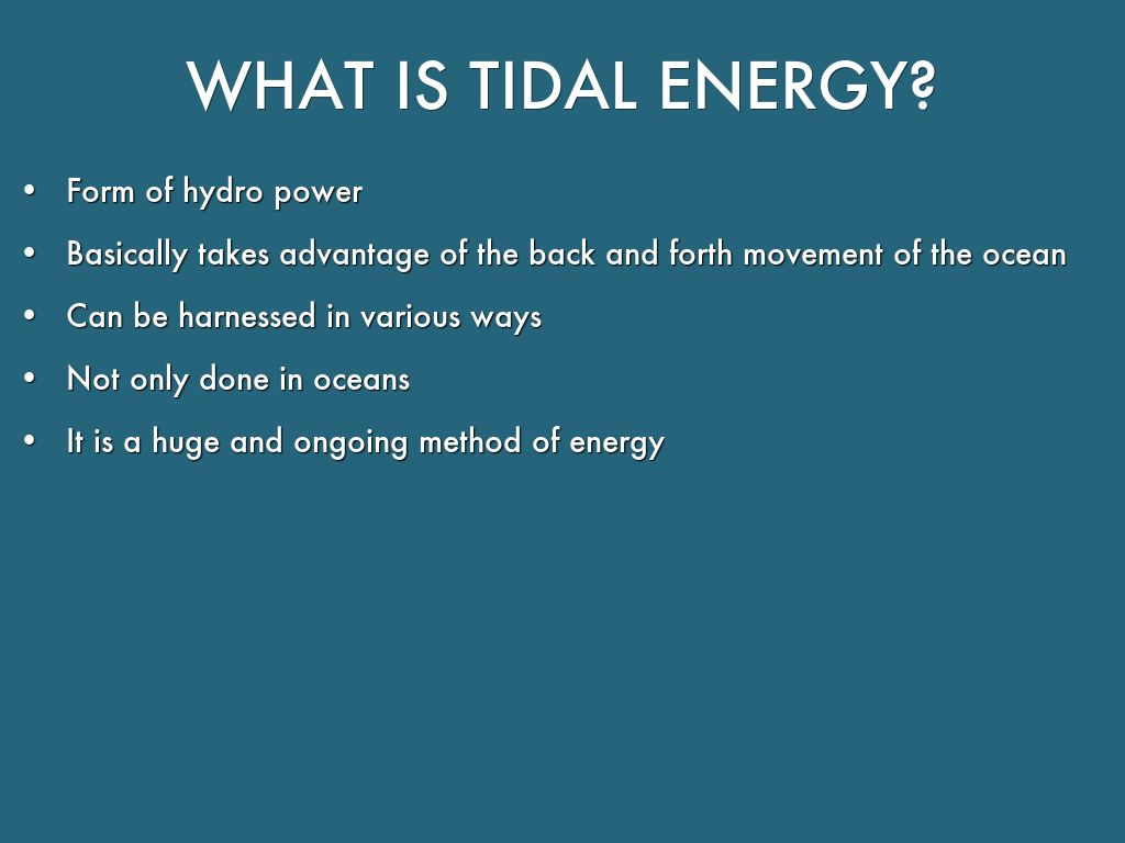 Pros And Cons Of Tidal Energy Ace Energy
