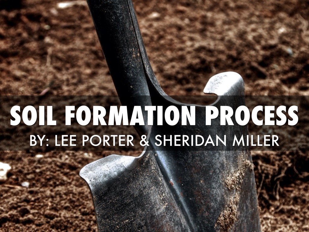 soil formation Read p 264-267 & the material below soil is a mixture of weathered rock & organic matter that usually covers  bedrock (solid rock that underlies all soil.