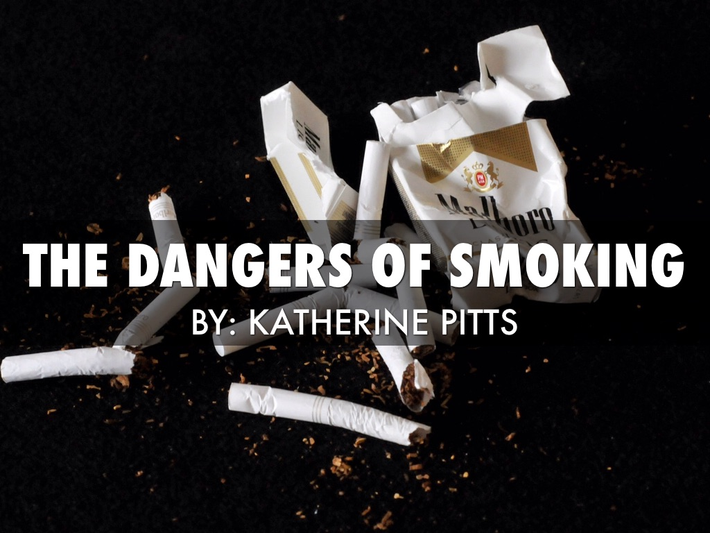 the dangers of smoking