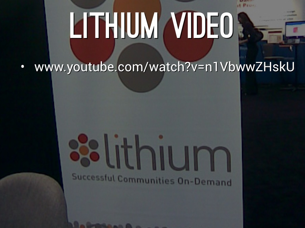 Lithium By Jared Glinn